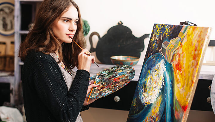 Harnessing your creativity may improve your overall well-being.