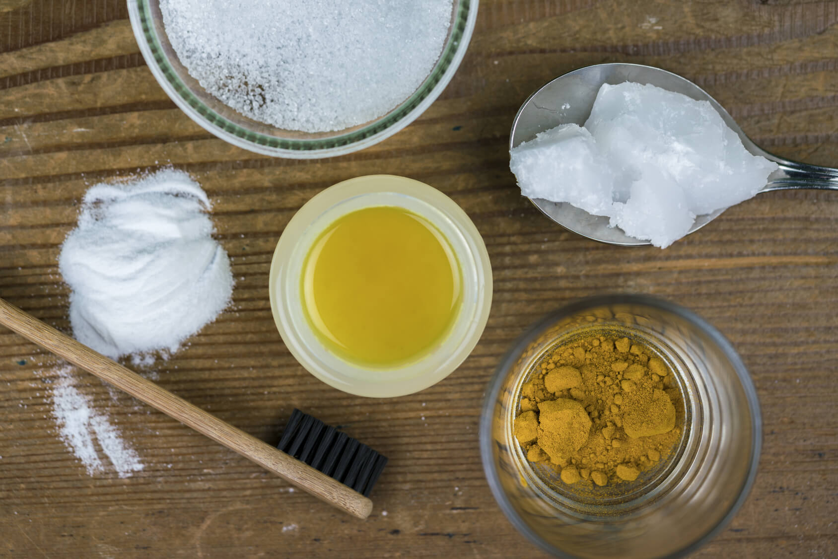 Homemade toothpaste with all-natural ingredients is better for long-term health.