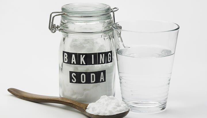 Mix baking soda and water to make a paste for bug bites.