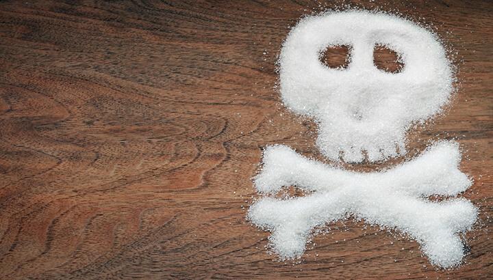 Too much sugar is toxic, including coconut sugar.