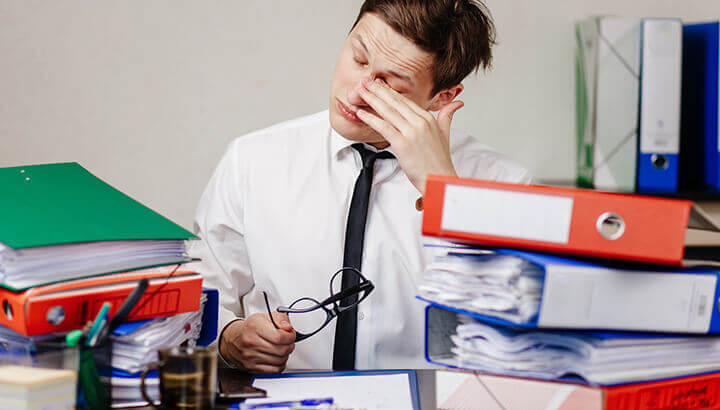 Bipolar disorder may be triggered by prolonged periods of stress.