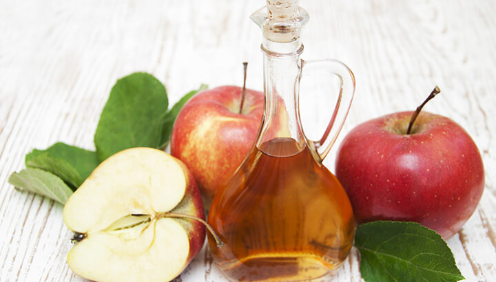 Drink apple cider vinegar with water to deter mosquitoes.