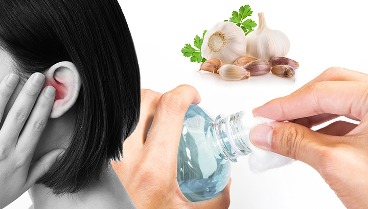 Garlic And Rubbing Alcohol