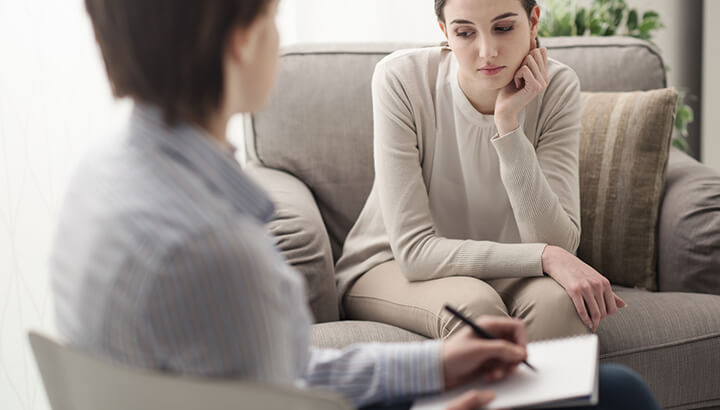 Instead of taking antidepressants, try talking to a therapist first.