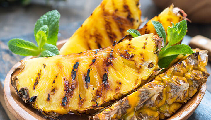 Pineapple is low in calories and nutrient rich.