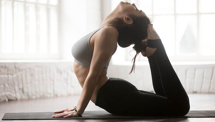 The heat in Bikram yoga may cause overstretching.