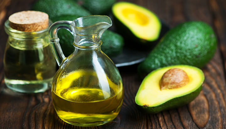 The oil from avocados is great for high-heat cooking.
