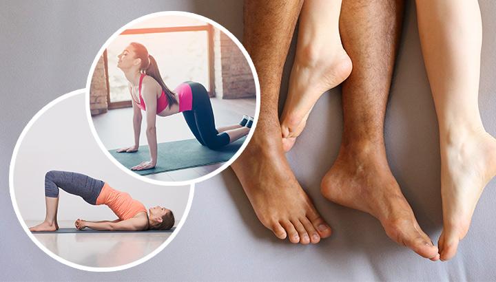 Yoga poses to improve your libido