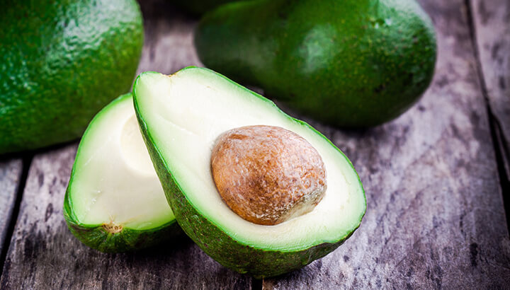Avocados can keep your blood sugar balanced, which improves anxiety.
