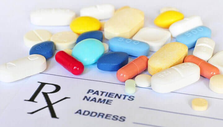 Medications may cause green poop as a side effect.