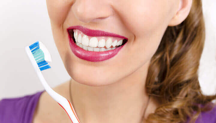Mix hydrogen peroxide and baking soda to whiten teeth naturally.