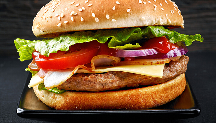 Processed foods, like red meat, can make anxiety worse.