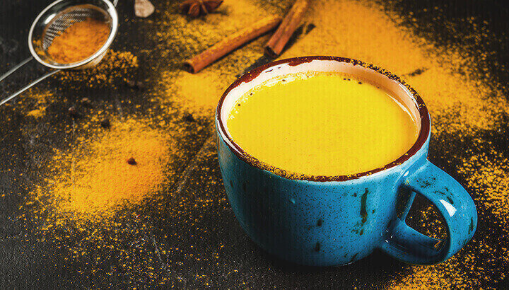 Turmeric milk is an easy way to get a healthy dose every day.