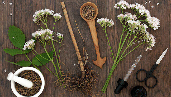 Valerian root works for anxiety by increasing GABA in the brain.