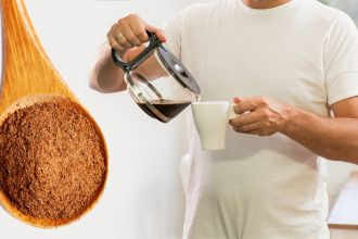 Add cinnamon to coffee every morning