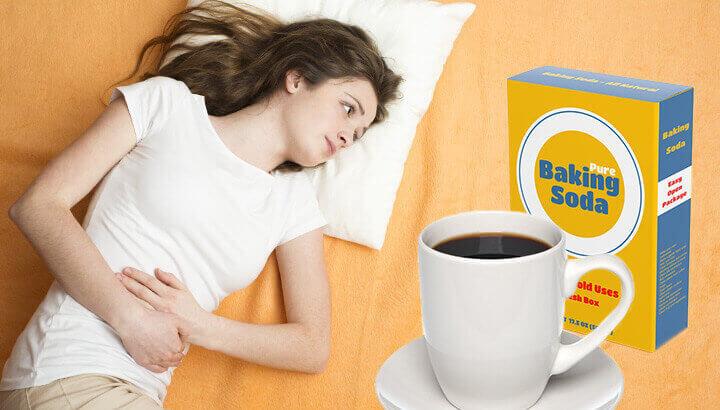 Benefits of adding baking soda to coffee