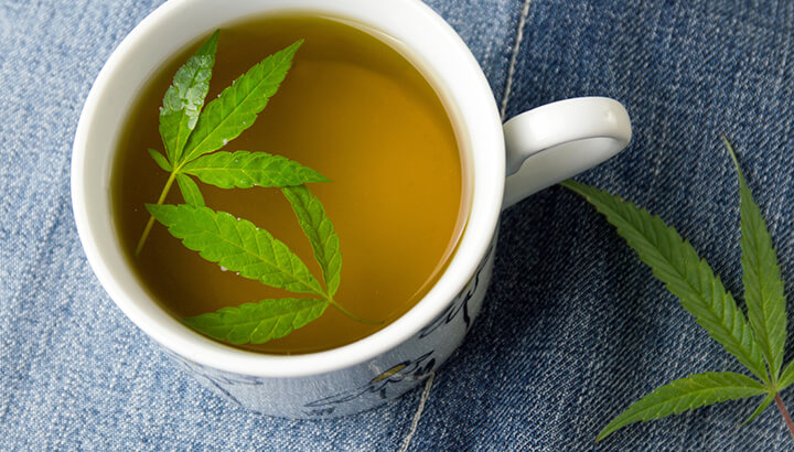 Cannabis tea is an easy way to enjoy the medicinal benefits.