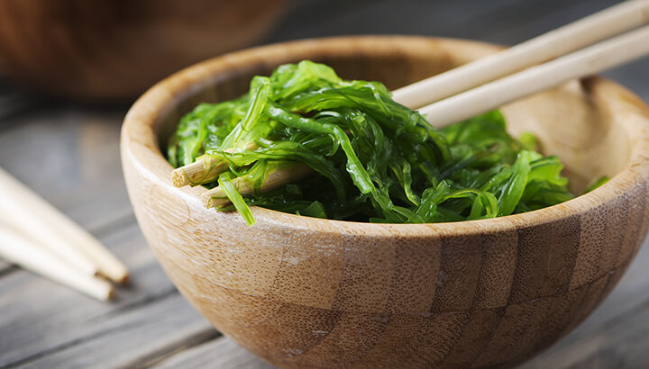 Eat fresh seaweed to flush toxins and fungus from the body.