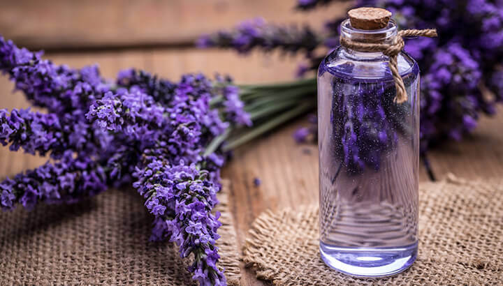 Lavender can help to clear up breakouts.