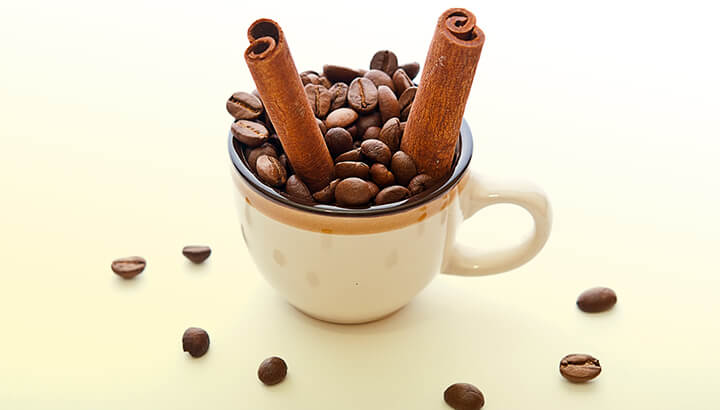 Research shows that coffee and cinnamon can improve symptoms of Parkinson's.