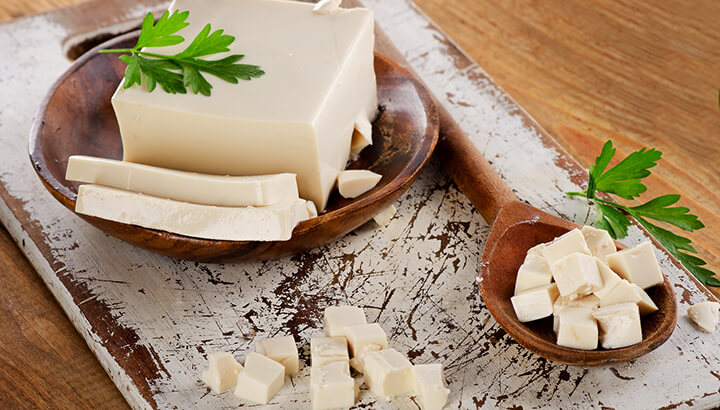 Soy products aren't necessarily healthy on a vegetarian diet.