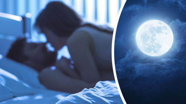 What does a full moon mean sexually