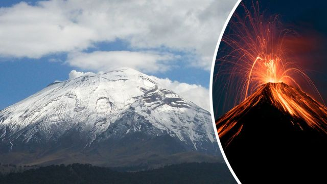 After Devastating Earthquake Mexico Fears Volcanic Eruption - Active volcanoes in mexico