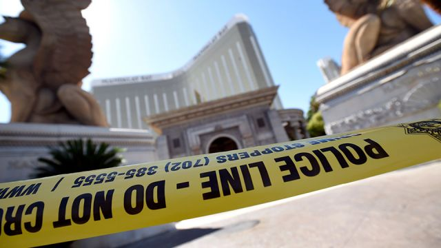 Hero Las Vegas security guard 'vanished' after dodging news media