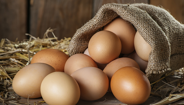 uncracked eggs