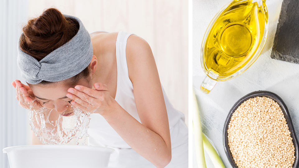 How To Wash Your Face With Quinoa (And Why You Should)