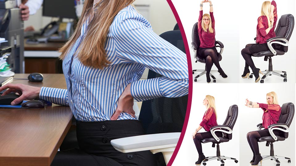 6 Office Yoga Poses To Soothe Your Lower Back Pain Must Try