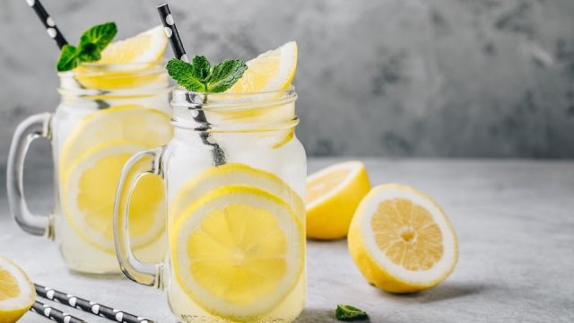 Sipping Lemon Water First Thing In The Morning Is Good For